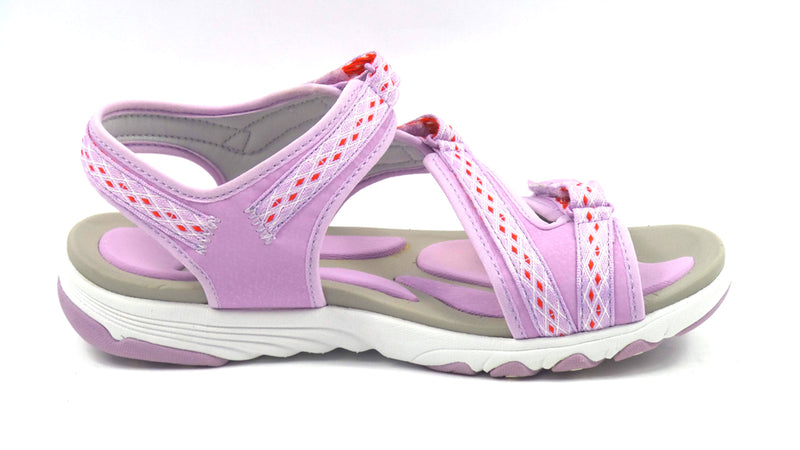 Ryka Adjustable Sport Sandals Ginger Lavender - A