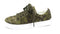 Isaac Mizrahi Live! SOHO Quilted Camo Printed Lace-Up Sneakers Green - A