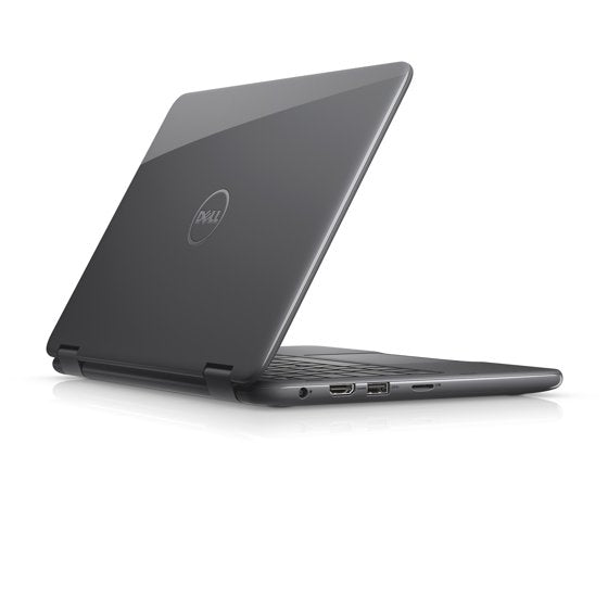 "Dell Inspiron 3185 11.6"" TouchScreen 2-in-1 Laptop AMD A9-9420E 1.8GHz 4GB RAM 500GB HDD W10 Gray - B"