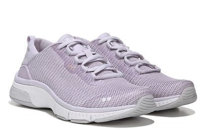 Ryka Mesh Lace-Up Walking Sneakers -Rhythma Lilac - NEW