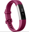 Fitbit Alta HR FB408SPMS Activity Tracker + Heart Rate size Small Fuchsia - A