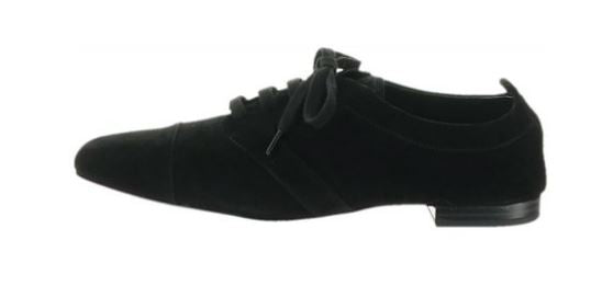 LOGO by Lori Goldstein Classic Lace-Up Oxfords Black - NEW