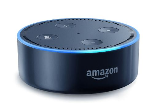 Amazon Echo Dot (2nd Generation) Smart Speaker Black - B