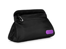 Caboodles Active by Simone Small Zip Pop Cosmetic Clutch Bag Black - NEW