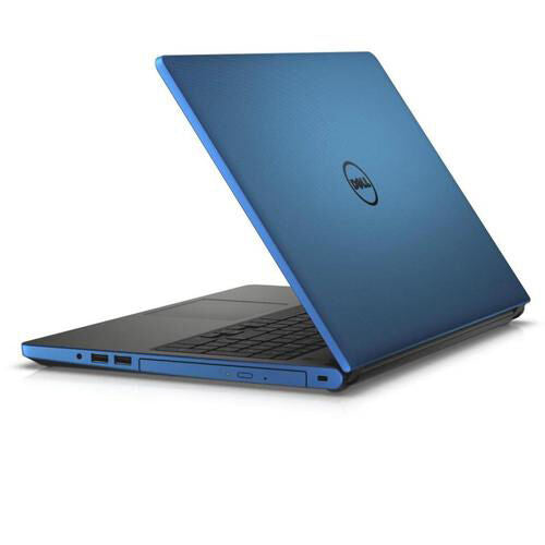 "Dell Inspiron 5555 15.6"" Laptop AMD A8-7410 R5 2.20GHz 12GB RAM 2TB HDD Windows 10 Blue - B"