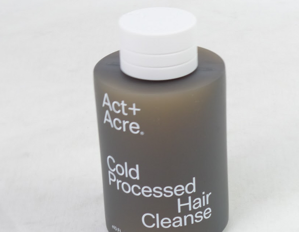 Act+Acre Cold Processed Hair Cleanse Shampoo for All Hair Types 10 Oz - NEW