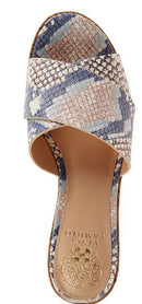 Vince Camuto Cross Band Wedges Kessina Sahara Snake - NEW