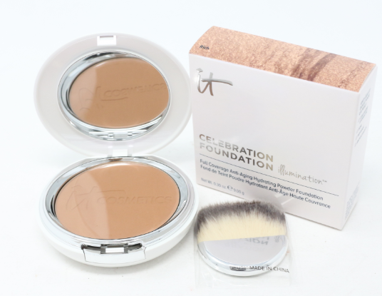 IT Cosmetics Celebration Foundation Illumination 0.30 oz 9.00 g Rich - NEW
