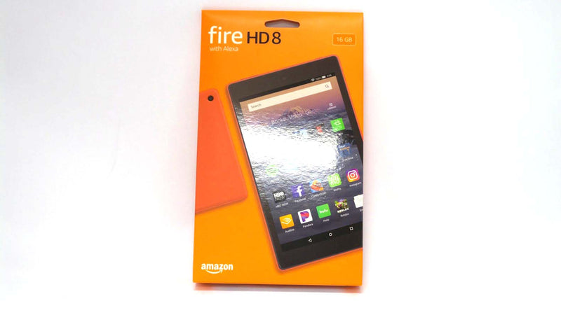 "Amazon Fire HD8 L5S83A 8"" (8th Gen) 16GB Quad-Core Wifi Tablet Red - A"