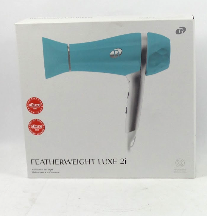 T3 Featherweight Luxe 2i Professional Hair Dryer Light Blue - A