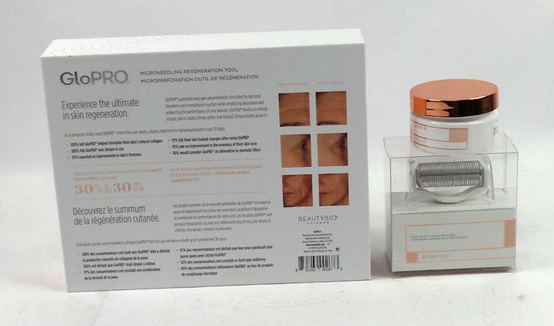 Beautybio Glopro Facial Tool W/body Attachment Pads Blush - NEW
