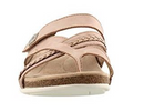 Earth Origins Suede/Knit Sandals Westfield Blush - NEW