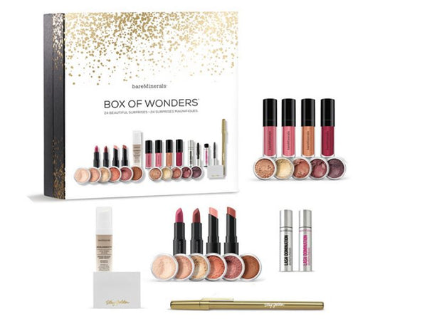 bareMinerals Box of Wonders 24 Days of Surprises - NEW