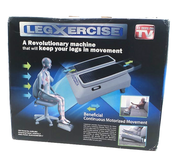 LegXercise Motorized Leg Movement Machine - NEW