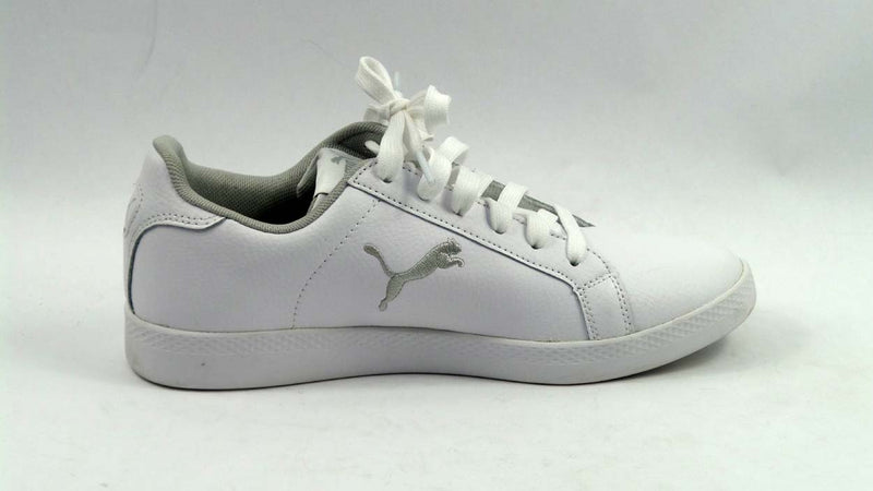 PUMA Leather Lace-up Sneakers Smash Cat - A