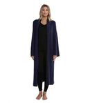 Barefoot Dreams CozyChic Lite Cross Creek Cardi Indigo/PacifBlu - NEW