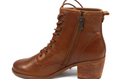 Patricia Nash Lace-Up Booties Sergio Tan - A