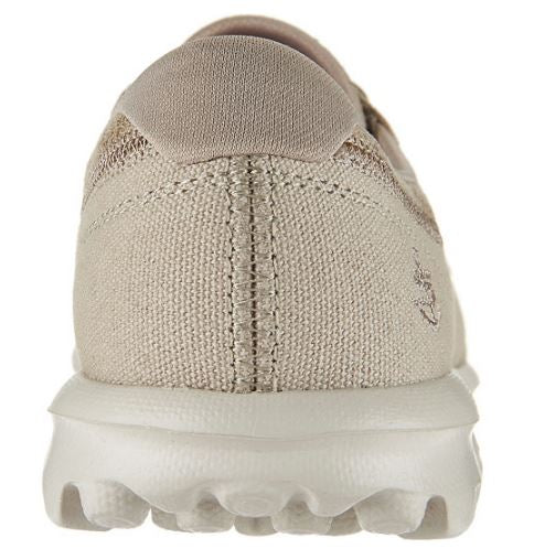 Skechers On-the-GO Boat Shoes with Goga Mat Seaside Taupe - NEW