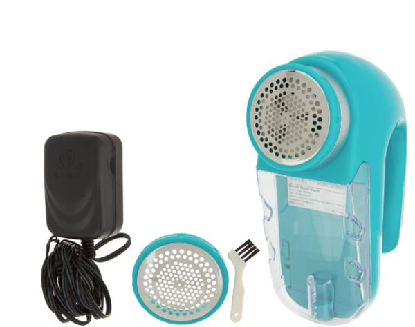 Rejuvenate Electric Fabric Renewer Pill and Fuzz Shaver Teal - A