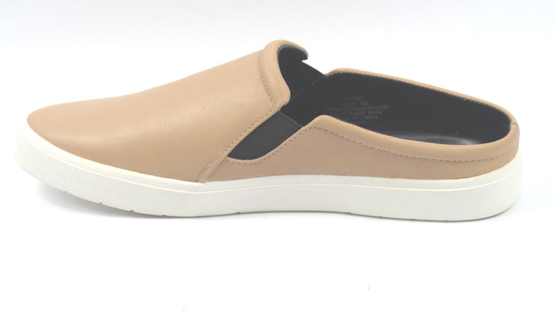 H by Halston Leather Slide-On Sneakers Ellie Sand - A