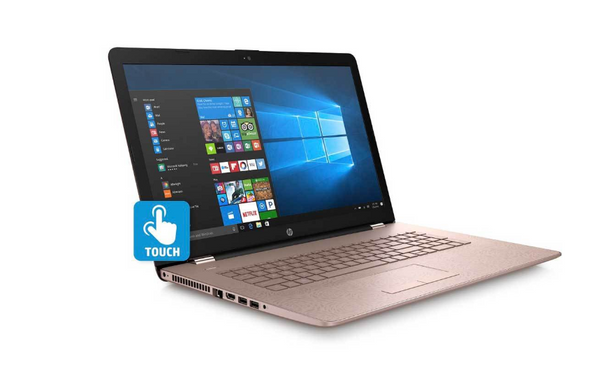 "HP 15-BS006CY 15"" Touch Laptop i3-7100U 8GB 2TB WIN10 Rose Gold - A"