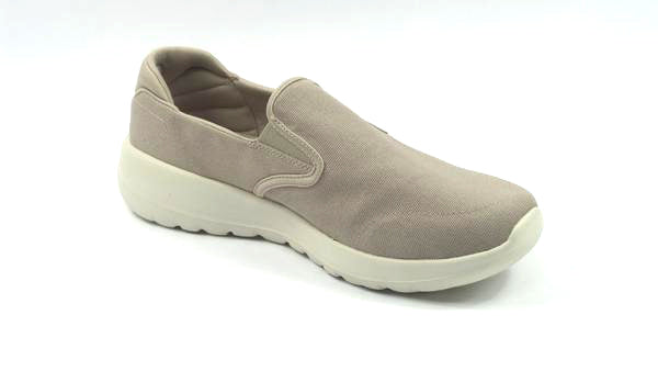 Skechers Go Walk Joy Canvas Slip-On Shoes Shine Taupe - A