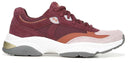 Ryka Suede Lace-Up Walking Sneakers Nova Burgundy - NEW