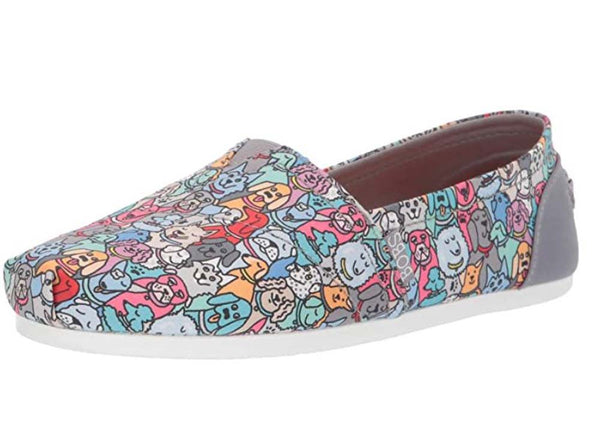Skechers BOB's Slip On Shoes Woof Party Multi - NEW