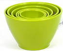 Rachael Ray 6-piece Melamine Measuring Cups Green - NEW