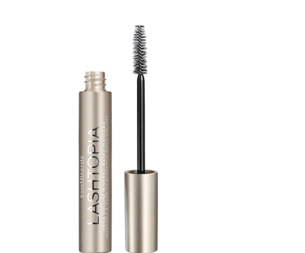 BareMinerals Lashtopia Mega Volume Mineral-Based Mascara 0.4 oz. Black - NEW