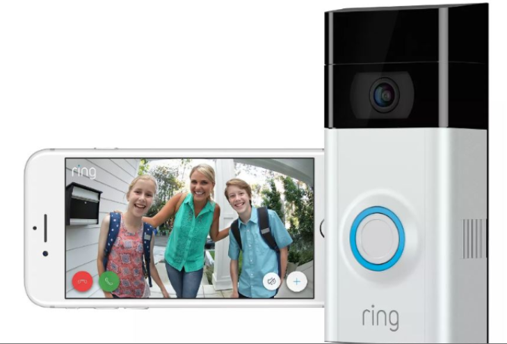 Ring Video Doorbell 2 Wire Free Video Doorbell 1080 HD Connected - B