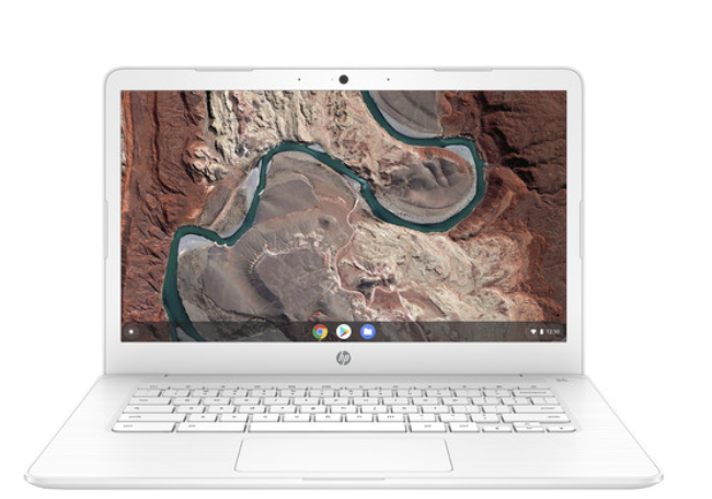 HP Chromebook 14-DB0070NR 14in AMD A4-9120C 4GB 32GB Chrome OS White - A