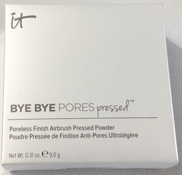 IT Cosmetics Pores Pressed Translucent Anti Aging Finishing Powder  - NEW