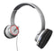 Flips Audio FLWH6030713 Satin White HD Solo 2 Social Headphones FLWH6030713-B