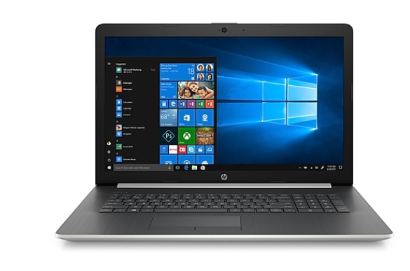 HP 15-BS004CY 15in Touch Laptop i3-7100U 8GB 2TB WIN10 Silver - A