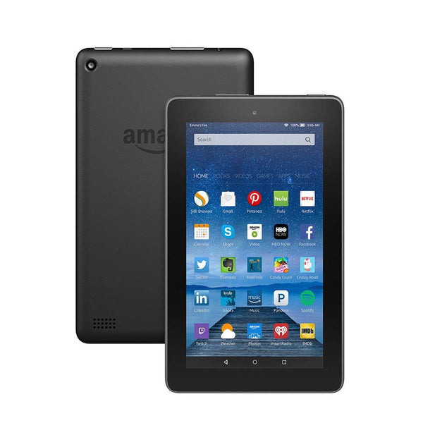 "Amazon SV98LN Kindle Fire (5th generation) 8GB Wifi 7"" QuadCore Tablet Black - B"