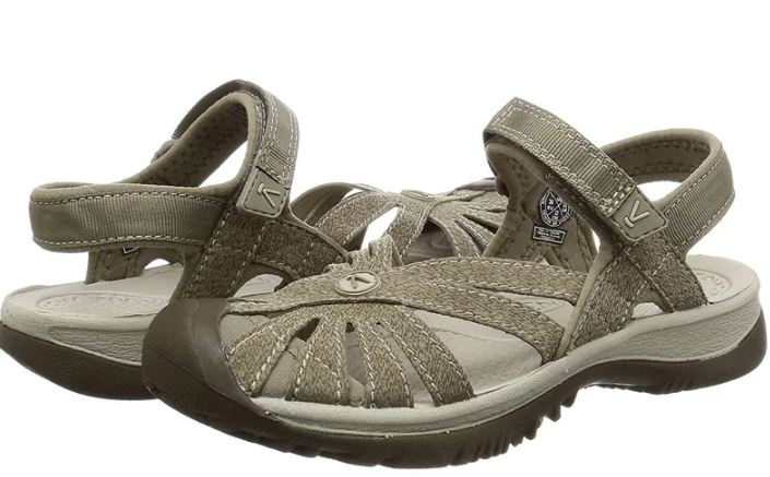 KEEN Multi-Strap Sport Sandals Rose Brindle Shitake - NEW