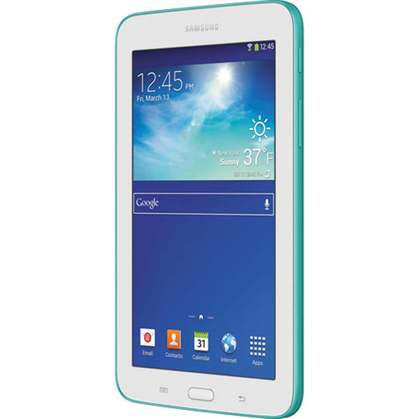 "Samsung Galaxy Tab 3 Lite 8GB Multi-Touch 7.0"" Wi-Fi Tablet Blue Green - A"