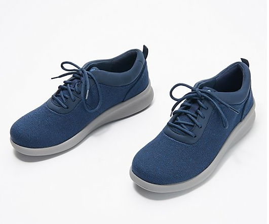 CLOUDSTEPPERS by Clarks Sneakers Sillian 2.0 Pace Navy - NEW