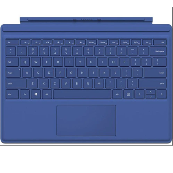 Microsoft Surface Pro 4 QC7-00003 Type Cover Blue - NEW