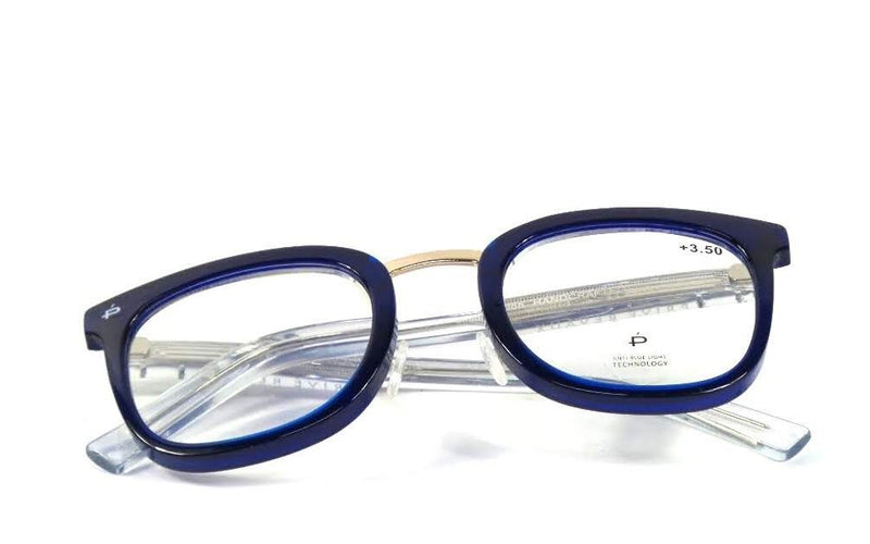 Prive Revaux The Alchemist Reading Glasses Strength Deep Blue - NEW
