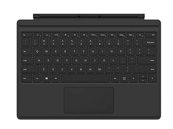 Microsoft Surface Pro 4 QC7-00001 Type Cover Black - NEW
