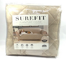 Sure Fit Sofa Plush Comfort Waterproof Furniture Cover Taupe - NEW
