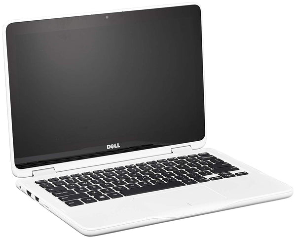 "Dell Inspiron 3185 11.6"" TouchScreen 2-in-1 Laptop AMD A9-9420E 1.8GHz 4GB RAM 500GB HDD W10 White - A"