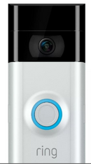 Ring Video Doorbell 2 Wire Free Video Doorbell 1080 HD + Chime Pro - B