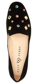 Katy Perry Embellished Loafers The Turner Black - NEW