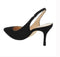 Marc Fisher Women's Pointy Toe Slingback Pumps Catling Black Suede - NEW