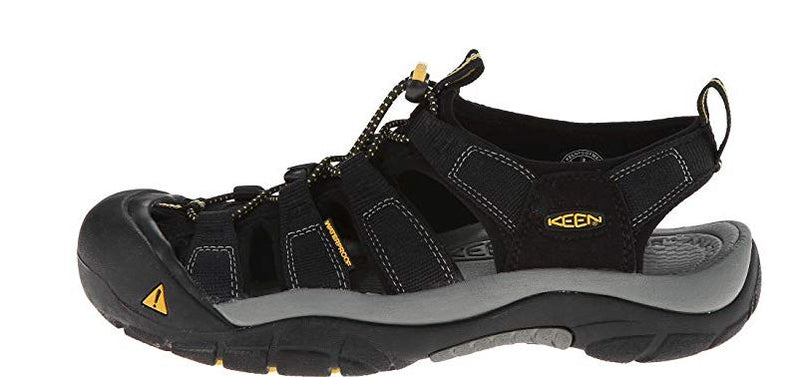 KEEN Men's Sport Sandals Newport H2 Black/Grey - NEW