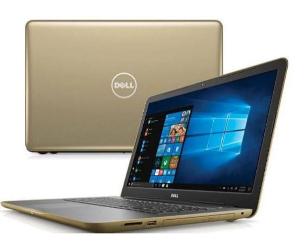 "Dell Inspiron 15-5555 15.6"" Laptop AMD A8-7410 8GB  1TB WIN10 Gold - A"