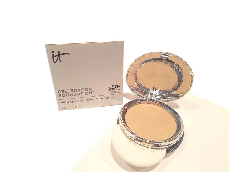 IT Cosmetics Celebration Foundation Full Coverage Powder 0.30 oz Fair - NEW
